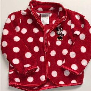 Minnie mouse fleece